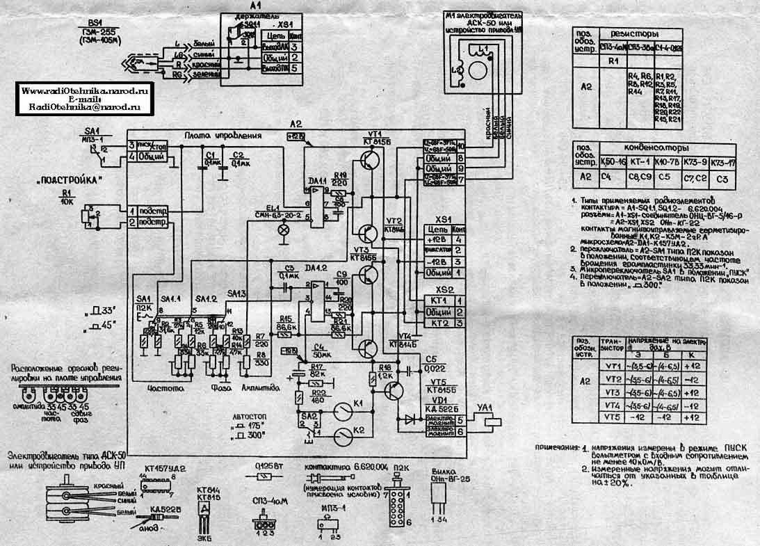 radiotehnika aria 102 инструкция