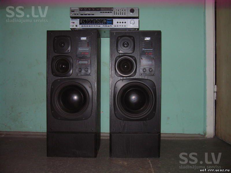 VEF Radiotehnika RRR - Акустика С 2000 по 2010 год