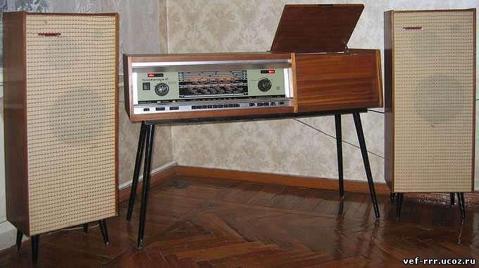 Радиола «Simfonija 2»